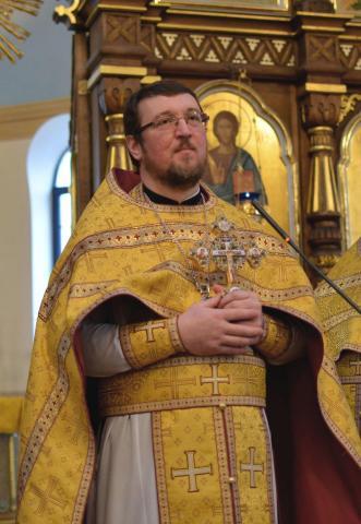 священник Георгий Рой