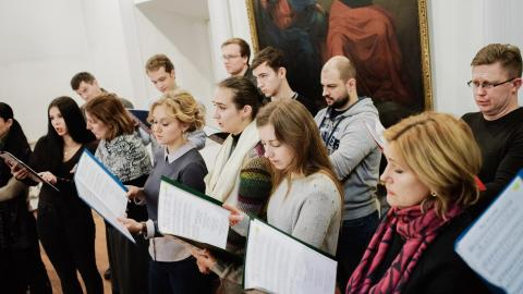 Архиерейский хор минского Свято-Духова кафедрального собора