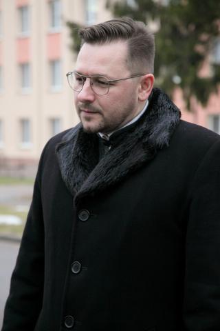 Священник Александр Хомбак