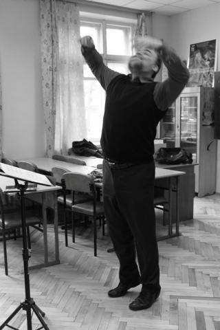 Во время репетиции