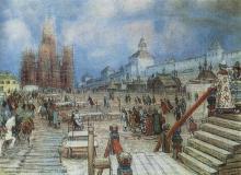 Аполлинарий Васнецов Кремль при Иване Грозном. 1550-е