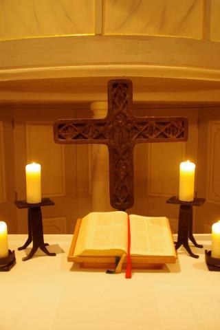 Интерьер церкви в Шопфлох