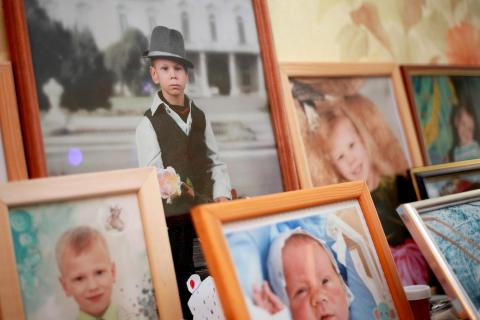 детские фотографии дома