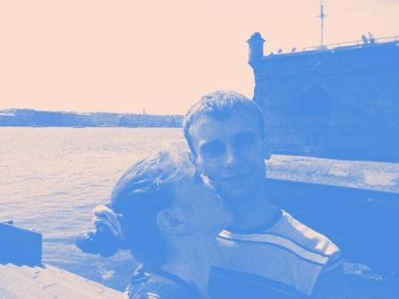 С Дмитрием в Питере